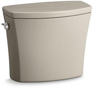 Kohler Kelston® 1.28 gpf Toilet Tank in Sandbar with Left-Hand Trip Lever K4469-G9