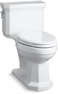 Kohler Kathryn® 1.28 gpf Elongated One Piece Toilet in White K3940-0