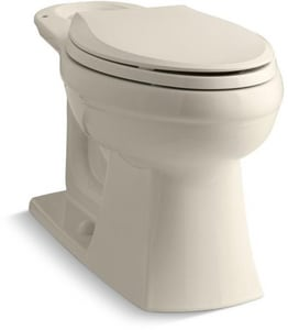 Kohler Kelston® Elongated Toilet Bowl in Almond K4306-47