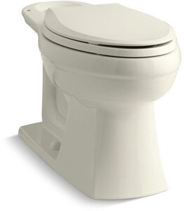 Kohler Kelston® Elongated Toilet Bowl in Biscuit K4306-96
