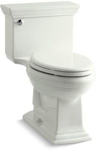 Kohler Memoirs® Stately 1.28 gpf Elongated Toilet in Dune with Left-Hand Trip Lever K3813-NY