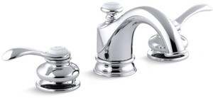 KOHLER Fairfax® Two Handle Widespread Bathroom Sink Faucet in Oil Rubbed Bronze K12265-4-2BZ