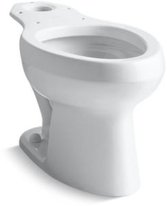 Kohler Wellworth® Elongated Floor Mount Toilet Bowl K4303