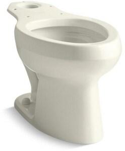 Kohler Wellworth® Elongated Toilet Bowl in Biscuit K4303-96