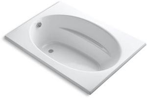 Kohler Windward® 60 x 42 in. Soaker Drop-In Bathtub in White K1113-0