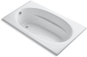 Kohler Windward® 72 x 42 in. Soaker Drop-In Bathtub in White K1115-0