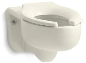 Kohler Stratton™ Elongated Toilet Bowl in Biscuit K4450-C-96