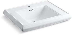 Kohler Memoirs® Pedestal Bathroom Sink in White K2259-1-0