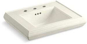 Kohler Memoirs® Pedestal Bathroom Sink in Biscuit K2239-8-96