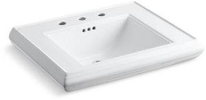Kohler Memoirs® Pedestal Vessel in White K2259-8-0