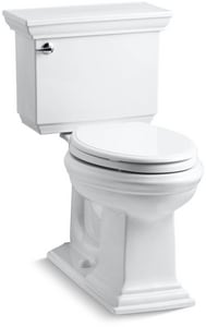 Kohler Memoirs® Stately 1.28 gpf Elongated Toilet in White K3817-0