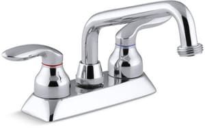 KOHLER Coralais® Two Lever Handle Laundry Faucet in Polished Chrome K15271-4-CP