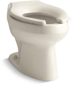 KOHLER Wellworth® Elongated Toilet Bowl in Almond K4406-47