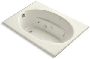 Kohler Windward® Drop-In Bathtub in Biscuit K1112-96