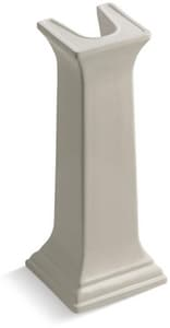 Kohler Memoirs® 27-3/8 in. Bathroom Sink Pedestal Only in Sandbar K2267-G9