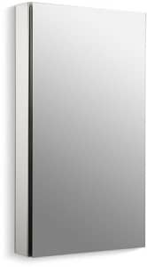 Kohler Charlotte 36 1 8 In Surface Mount And Recessed Mount Medicine Cabinet In Satin Anodized Aluminum 2939 Pg Saa Ferguson