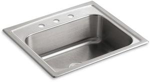 Kohler Toccata™ 25 x 22 in. Single Bowl Self-Rimming Sink K3348