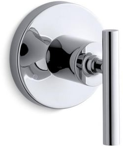 Kohler Purist® Transfer Valve Trim with Single Lever Handle in Polished Chrome KT14491-4-CP