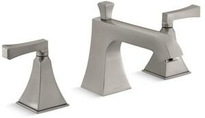 Kohler Memoirs® Two Handle Roman Tub Faucet in Vibrant Brushed Nickel Trim Only KT428-4V-BN