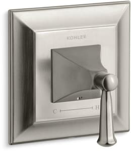 Kohler Memoirs® Stately Valve Trim with Single Lever Handle in Vibrant Brushed Nickel KT10421-4S-BN