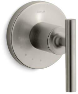 Kohler Purist® Single Lever Handle Valve Trim for Volume Control Valve in Vibrant Brushed Nickel KT14490-4-BN