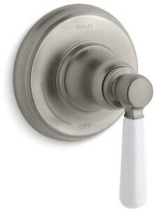 KOHLER Bancroft® Single Handle Bathtub & Shower Faucet in Vibrant® Brushed Nickel (Trim Only) KT10596-4P-BN