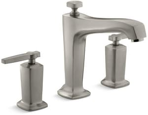 Kohler Margaux® Two Handle Roman Tub Faucet in Vibrant Brushed Nickel Trim Only KT16237-4-BN