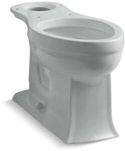 KOHLER Archer® 1.28 gpf Elongated Floor Mount Toilet Bowl in Ice™ Grey K4356-95