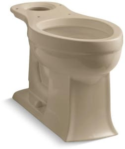 KOHLER Archer® 1.28 gpf Elongated Floor Mount Toilet Bowl in Mexican Sand™ K4356-33