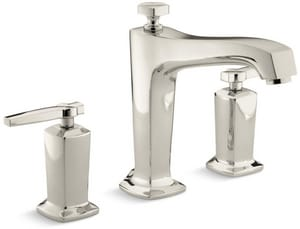 Kohler Margaux® Two Handle Roman Tub Faucet in Vibrant Polished Nickel Trim Only KT16236-4-SN