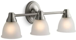 KOHLER Forte® 100W Up or Down Facing 3 Light Sconce for Forte Faucet Line Vibrant Brushed Nickel K11367-BN