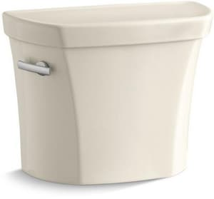 Kohler Wellworth® 1.28 gpf Toilet Tank in Almond with Left-Hand Trip Lever K4467-UT-47