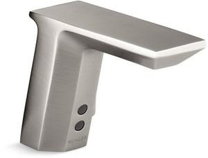 KOHLER Insight™ Single Handle Widespread Bathroom Sink Faucet in Vibrant Stainless K7517-VS