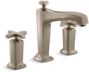 KOHLER Margaux® Two Handle Roman Tub Faucet in Vibrant Brushed Bronze KT16236-3-BV