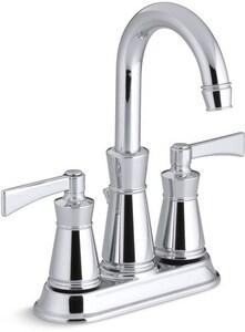 Kohler Archer® Centerset Lavatory Faucet with Double Lever Handle K11075-4