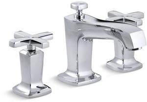 Kohler Margaux® Widespread Bathroom Sink Faucet with Double Cross Handle K16232-3