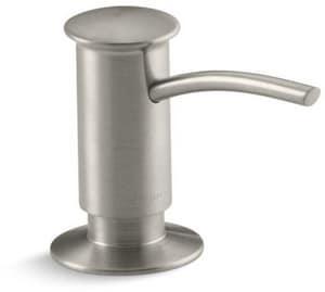 KOHLER 3-1/16 in. 16 oz Kitchen Soap Dispenser in Vibrant Brushed Nickel K1895-C-BN