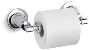 Kohler Archer® Wall Mount Toilet Tissue Holder in Polished Chrome K11054