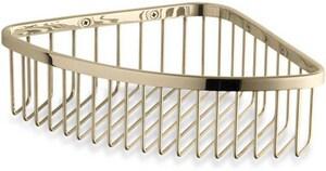 KOHLER Escale® Large Shower Basket in Vibrant French Gold K1897-AF
