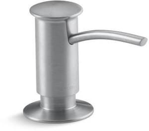 KOHLER 3-1/16 in. 16 oz Kitchen Soap Dispenser in Brushed Chrome K1895-C-G