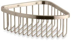 KOHLER 3 x 9-1/8 x 6-1/4 in. Medium Corner Shower Basket in Vibrant Brushed Bronze K1896-BV