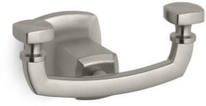 Kohler Margaux® 2 Robe Hook in Vibrant Brushed Nickel K16256-BN