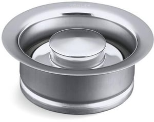 KOHLER Disposal Flange With Stopper for 4-1/2 in. Garbage Disposal in Chrome K11352