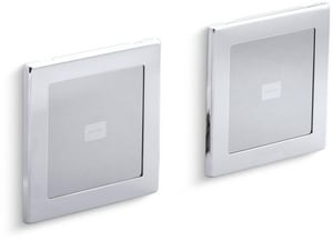 Kohler SoundTile™ Speakers in Polished Chrome K8033