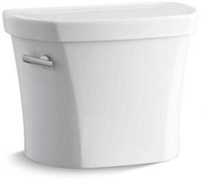 Kohler Wellworth® 1.28 gpf Toilet Tank in White with Left-Hand Trip Lever K4841-UT