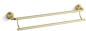 Kohler Devonshire® 24 in. Towel Bar in Vibrant Polished Brass K10553-PB