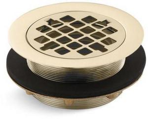 Kohler Devonshire® Shower Drain for Plastic Pipe in Vibrant French Gold K9132-AF