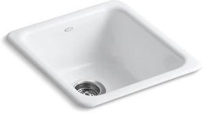 Kohler Iron/Tones® 17 x 18-3/4 in. Single Bowl Kitchen Sink ...