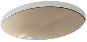 Kohler Caxton® Undermount Bathroom Sink in Mexican Sand K2210-33