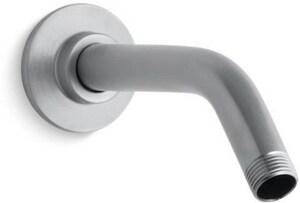 KOHLER MasterShower® 7-1/2 in. Wall Mount Shower Arm and Flange in Brushed Chrome K7397-G